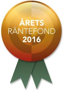 Årets räntefond 2016