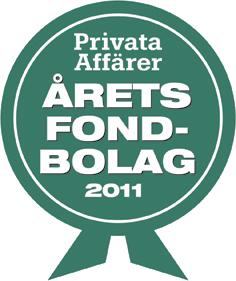 Årets fondbolag 2011