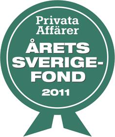 Årets sverigefond 2011